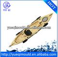 Roto moldeo kayak de recreo/barco/canoa, rotomoldeado kayak de recreo