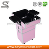 HOT pink 4 in 1 beautiful cosmetic aluminum case
