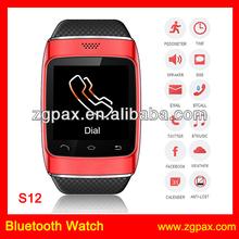 Talk Watch Phone 2013 Wrist Watches For Men And Women Bluetooth Smart Watch,