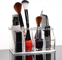 clear pleastic nail polish case/acrylic desktop organizer