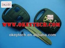 okeytech toyota yaris chiave per toyota 2 tasti del telecomando shell chiave per toyota yaris telecomando chiave