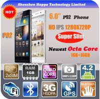 cheap mtk6592 cortex a7 octa core cpu HD IPS 1280 x 720 RAM 1G ROM 16G MT6592 Octo Core 3G WCDMA