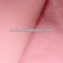 100% polyester anti pill fleece fabric