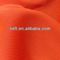 100% polyester rib knit trim fabric