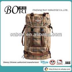 Custom fancy backpack bags manufacturer hot popular non woven shopping bag