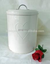 Embossed logo bread bin bread box bread storage container