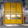 Suncome de alta velocidad h-5000 puerta plegable de pvc/de alta velocidad de puertas de apilamiento
