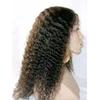 Hot beauty sale 100% virgin remy kinky curly human hair wigs for black women