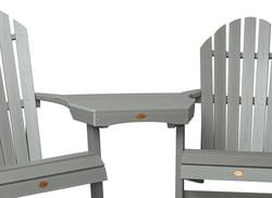 Tete-a-Tete Adirondack Chair Set - Coastal Teak
