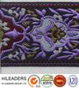 JR110 woven jacquard ribbon/embroidered organza ribbon