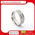 moda joyas pavimenta o ajuste de diamantes vintage anéis de casamento de venda quente