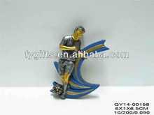 Polyresin China Manufacturer Decorative Custom Resin 2D Trophy Figurine for soccer