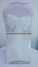 100% polyester organza chair sash organza chair sash, chair sash for wedding, chair sash in various color