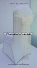 100% polyester satin organza crystal organza chair sashes, chair sashes for wedding,wholesale cheap chair sashes