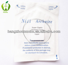 orthodontic niti arch wire orthodontic niti reverse curve arch wire 012 upper lower
