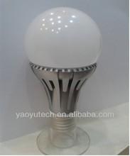 High quality aluminum 85-265V led bulb light 5W 9W warm cool white 6500K / Zhong shan China LED light bulbs manufacturer