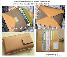 tyvek envelop case for iPad air, tyvek tablet bag, undercover tablet sleeve