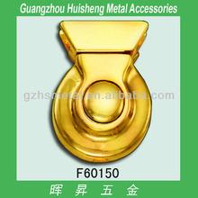 bag turn lock hardware_ metal turn lock_ handbag bag lock of bag accessories