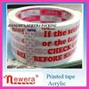 bopp acrylic packing printed washi tape