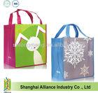 Fashionable Non woven shopping bag cartoon style gift give away bag