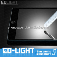New arrival 0.3mm 9H antishock anti -fingerprint tempered glass screen protector for ipad mini