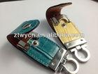 Swivel cheap leather usb,oem leather usb pen drive,32gb leather usb flash memory