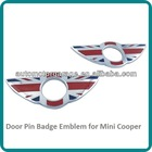Mini /S/ONE/Roadster/Clubman/Coupe Door Pin Badge Red England