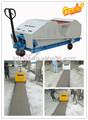 Automaticlly nuevo diseñado avanzado hqj90-600 peso ligero bloques de hormigón armado