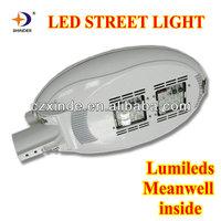 lumileds led chips & Meanwell led driver led street light led luminaire solar garden/street light