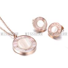 MissHerr necklace set fashion jewelry wholesale MSSN175STRGWT