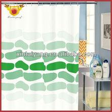 Cyan Foot Print Shower Drapes Window Curtain Patterns