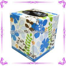 handmade cross stitch tissue box cover& knit tissue box