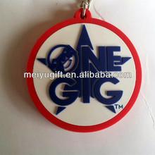 keychain plastic Promotional PVC Key Chain/Cheap Custom Keychains