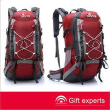 hot sell red big volume waterproof dry backpack bag
