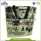 2014 fashion high quality non woven shopping bag