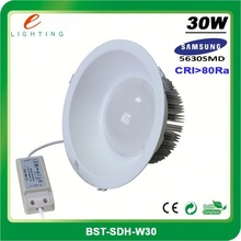 5W 10W 20W 30W surface mounted SMD 5630 LED downlight