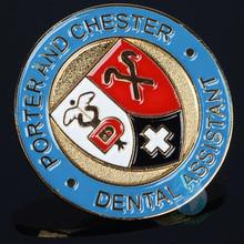 nurse metal lapel pin medical assistant