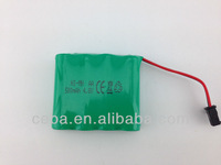 Shenzhen electronics NIMH battery pack 2.4v 1200mah nimh battery
