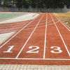 Environmental rubber running track for outdoor use