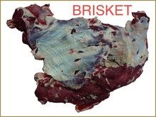 FROZEN BUFFALO/BEEF BRISKET