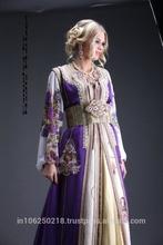 hot small girl muslim abaya/kaftan abaya islamic clothing K3064