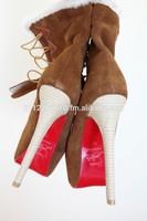 Red sole boots 16cm, C*L louboutinai