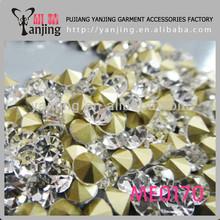 Senior shiny wholesale rhinestones conchos