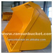 wheel loader rock bucket
