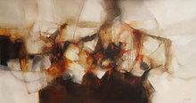 Original Large Painting Peru Abstract Art (2011)