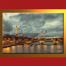 Popular design100% Handmade photo oil painting landscape