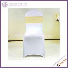 new fashion design organza chair sash gold organza sash for chair