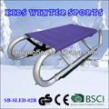 El certificado del ce plegable de aluminio trineo de nieve para los deportes de invierno( sb- trineo- 02b)