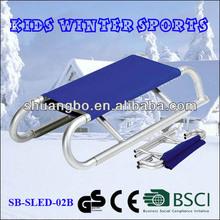Popular Outdoor Aluminum Foldable Snow Sled for Children(SB-Sled-02B)