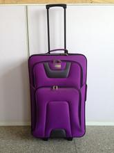 2014 hot sell large purple luggage